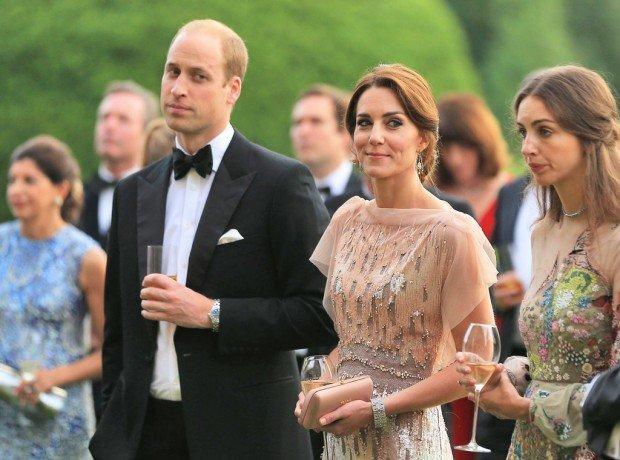 принц уильям кейт миддлтон семьи отношения