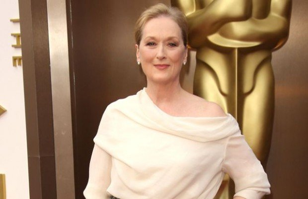 Meryl Streep at the 2014 Oscars ceremony