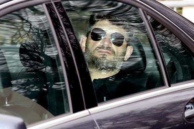 Fadi Fawaz and George Michael's family and friends seen arriving at Highgate Cemetery to lay the late singer to rest, London. 29/03/2017