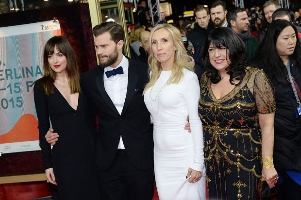 'Fifty Shades of Grey' Premiere - 65th Berlinale International Film Festival