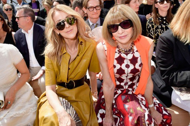 Christian Dior : Front Row - Paris Fashion Week - Haute Couture Fall/Winter 2017-2018