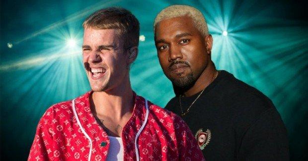 Justin Bieber and KANYE!?
