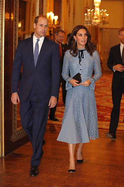 The Duke & Duchess Of Cambridge And Prince Harry Support World Mental Health Day