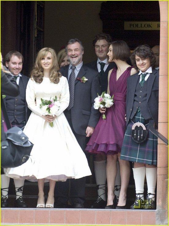Кира Найтли стала подружкой невесты на свадьбе своего брата Калеба