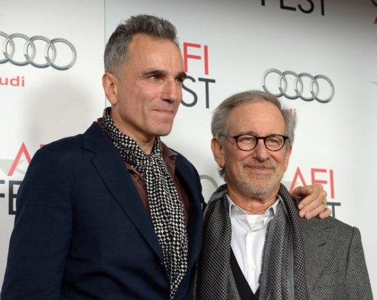 Стивен Спилберг показал «Линкольна» на AFI Линкольн Фильм Актеры