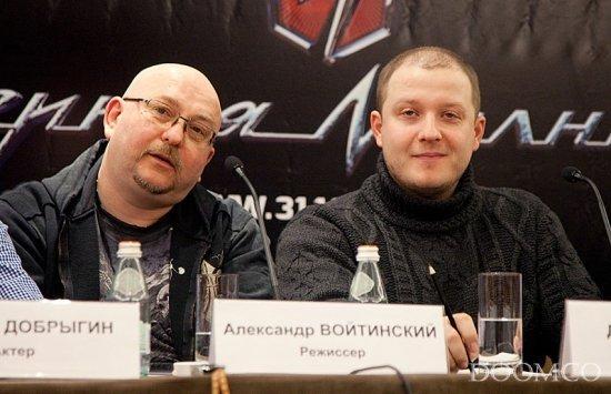 Александр Войтинский и Дмитрий Киселев