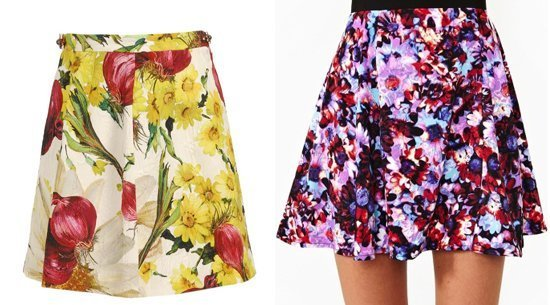 Юбки цветочные доставка