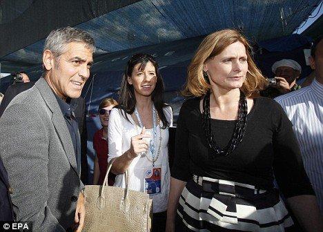 Джордж Клуни в Италии
