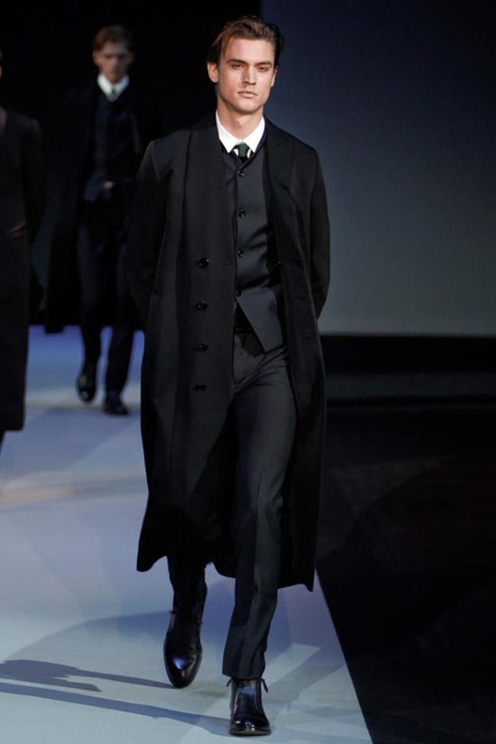 Классическое мужское пальто 1
