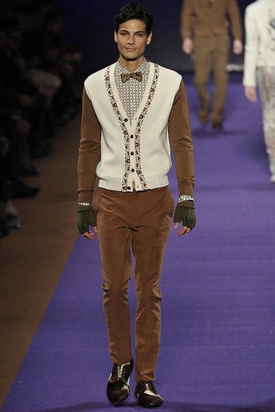 Неделя Моды в Милане: Alexander McQueen и Etro.