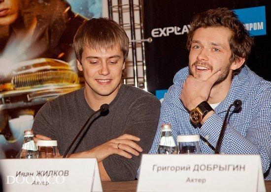 Иван Жидков и Гриша Добрыгин