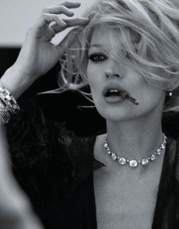Кейт Мосс для Harpers Bazaar