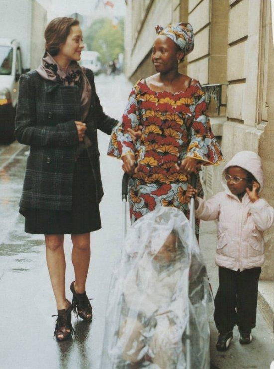Марион Котийяр для Vogue