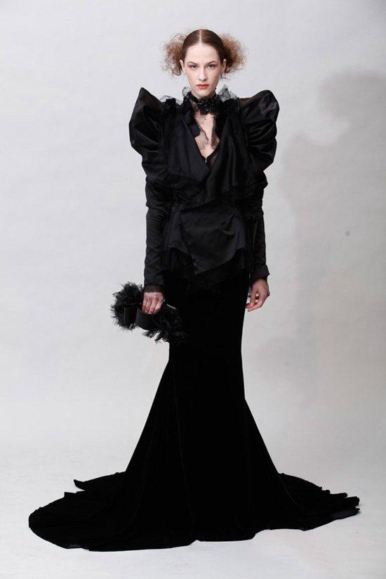 eec0f7b54dc Неделя Моды в Нью-Йорке  Marchesa