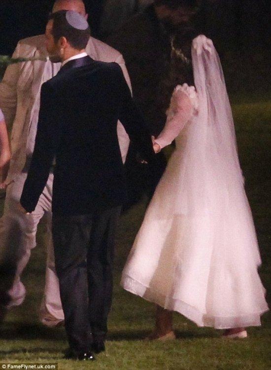 Натали Портман Свадьба