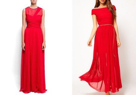 классические длинная платья
