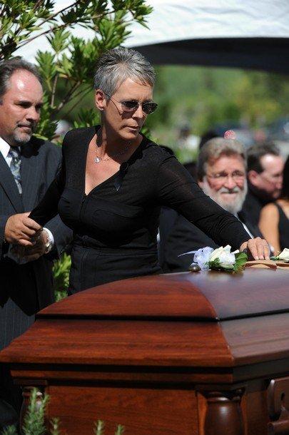 Похороны Тони Кертиса