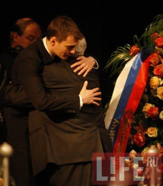 Прощание с Олегом Янковским