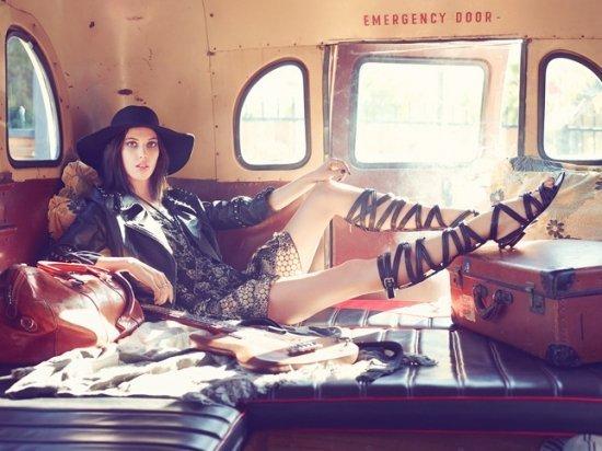Руби Олдридж для Vogue Russia