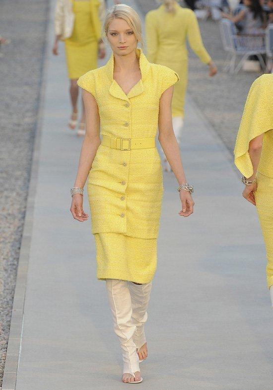 Круизная коллекция Chanel 2012.  Мои фавориты-платья...Как всегда!