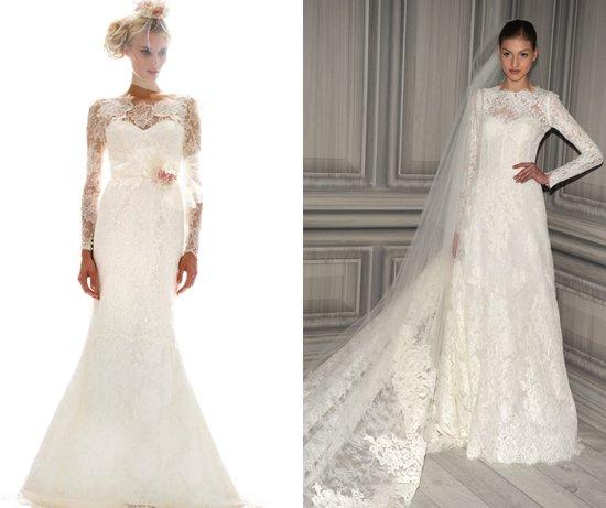Свадебные платья Осень 2012