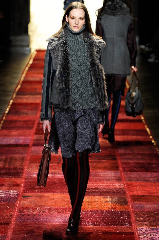 Модные вязаные свитера для