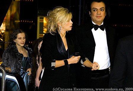 Вера Брежнева и Филипп Киркоров