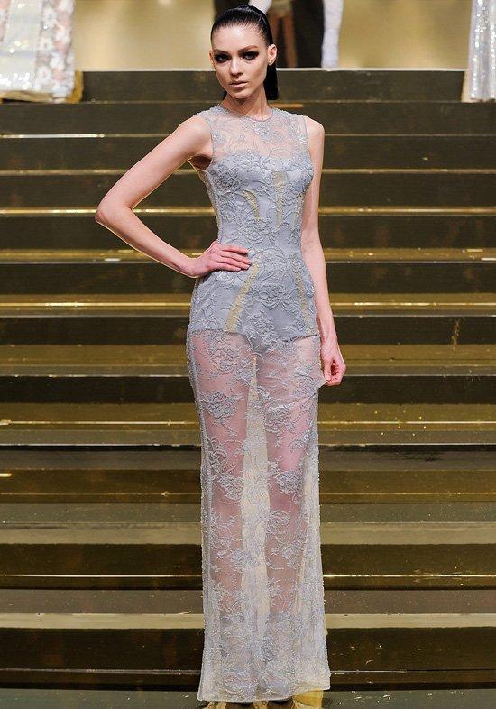 Неделя высокой моды в париже вечерние платья