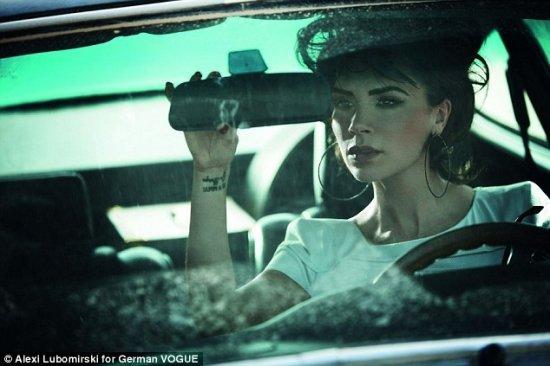Виктория Бэкхем для Vogue