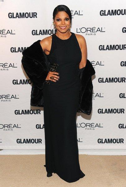 """Церемония награждения журнала Glamour  """"Женщина года """"."""