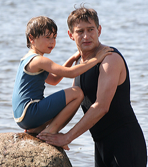 константин хабенский и сын фото