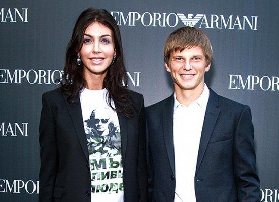 фото аршавина и его новой жены