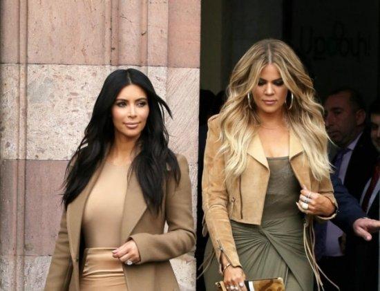 Смотреть Ким Кардашьян ссестрами закрывает бутик, скоторого начинался их бизнеc видео