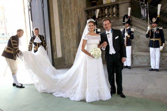 Свадьба принцессы Мадлен