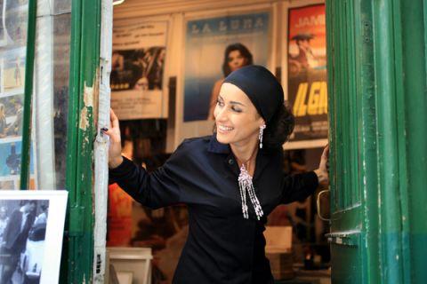 Тина Канделаки в Париже