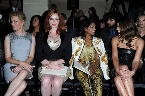 Versace Haute-Couture show 2012