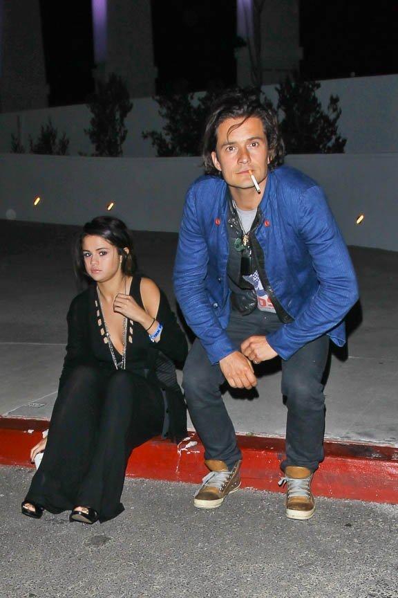 Revanche??? Selena Gomez e Orlando Bloom levam batia susto ao serem clicados juntos