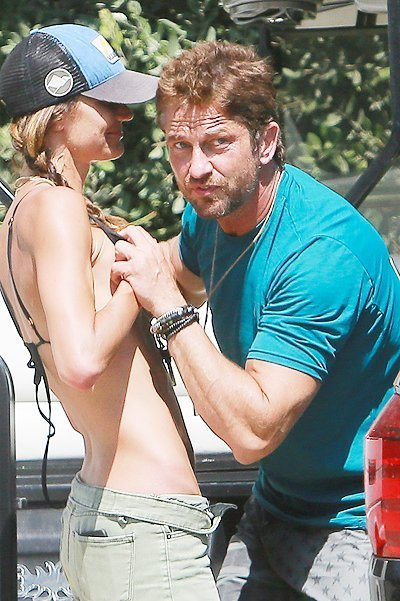 Gerard Butler turns on the Ladies in Malibu