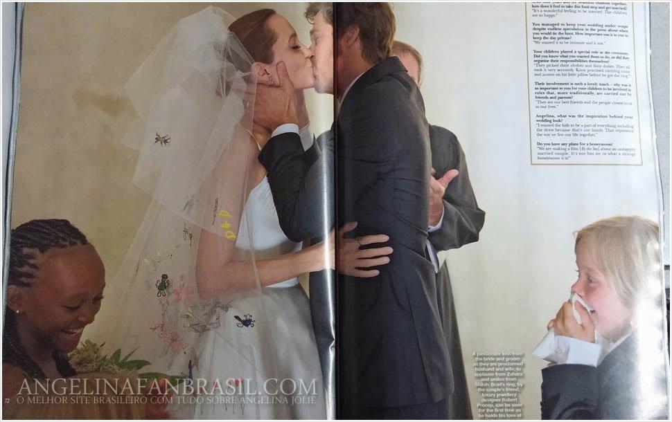Брэд Питт и Анджелина Джоли свадьба этим летом