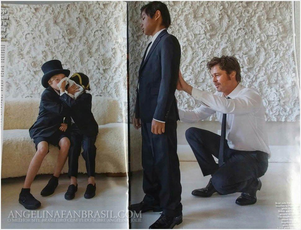 Свадьба Анджелины Джоли и Брэда Питта первые фото