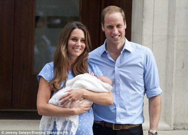 Принц Уильям и  Герцогиня Кейт придумали имя для будущего ребёнка