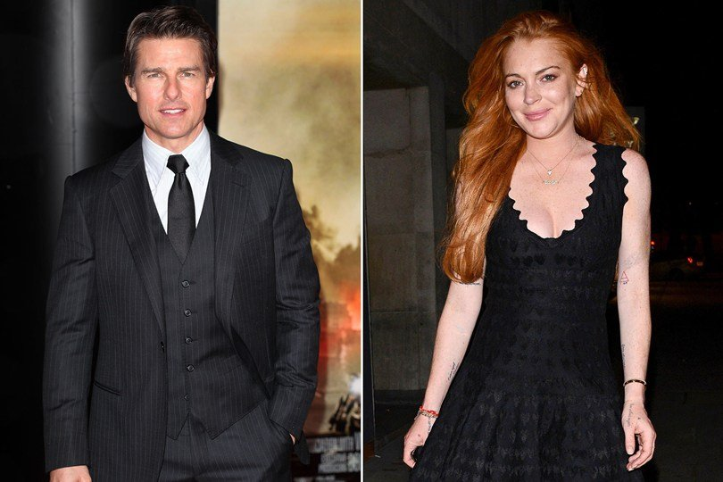 is tom cruise dating lindsay lohan Remember back in the day when lindsay lohan tried to be a pop star, and she released that song rumors, with lyrics like, i'm tired of rumors starting/ i'm sick of being followed/ i'm.
