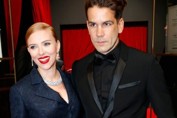 (FILE PHOTO) Scarlett Johansson And Her Fiancee Romain Dauriac Are Expecting Their First Child
