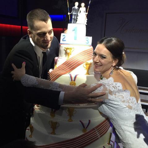 исинбаева елена и никита петинов свадьба фото
