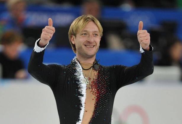 Евгения Плющенко назвали спортсменом года