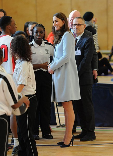 The Duchess Of Cambridge Formally Opens The Kensington Leisure Centre