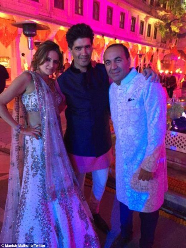 Jlo hinduja wedding