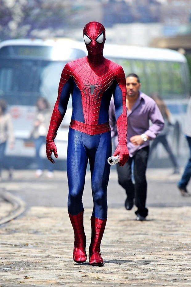 Andrew garfield spiderman hairstyle