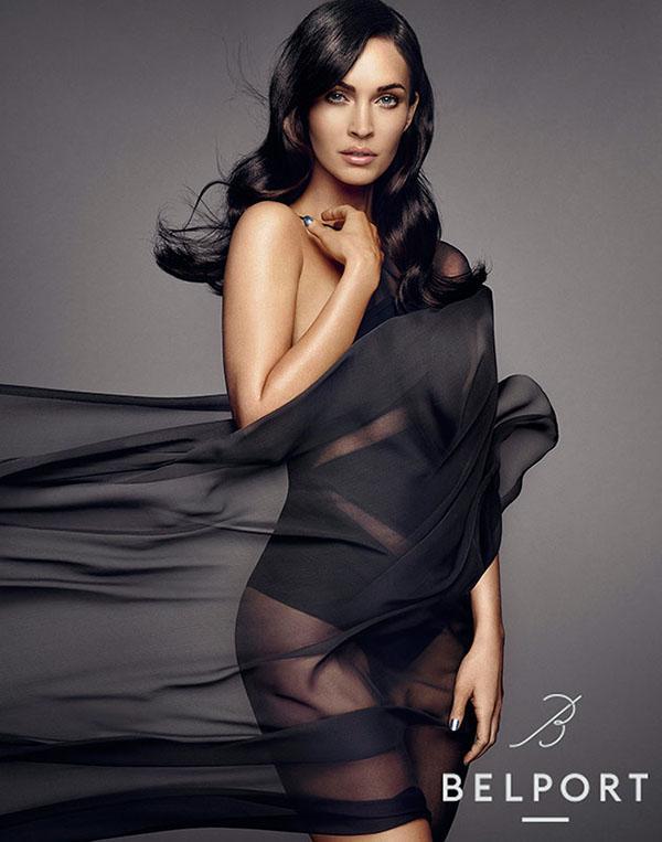 фото Меган Фокс (Megan Fox) снялась в рекламе корейского косметического бренда Belport 2015