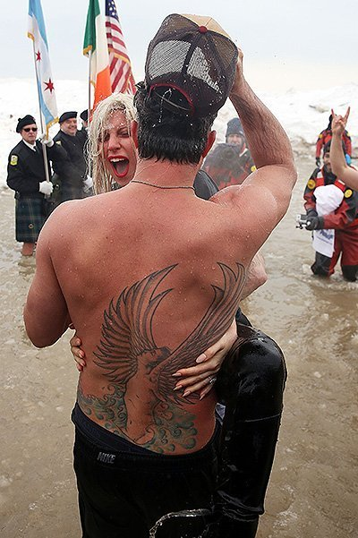 Chicago Polar Plunge 2015